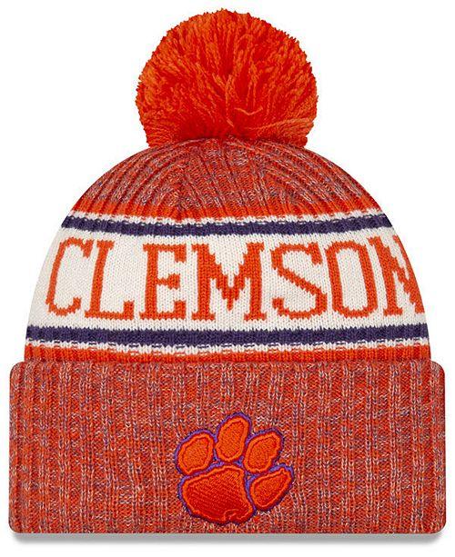 New Era Clemson Tigers Sport Knit Hat