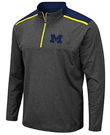 Men's Michigan Wolverines Snowball Quarter-Zip Pullover