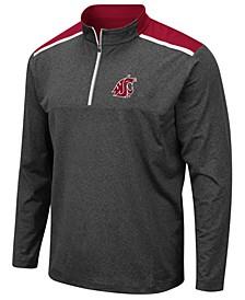 Men's Washington State Cougars Snowball Quarter-Zip Pullover