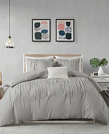 Urban Habitat Paloma Full/Queen 5 Piece Cotton Duvet Cover Set