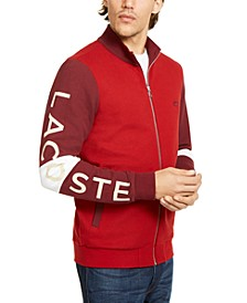 Men's Waffle Knit Colorblocked Track Jacket, Created for Macy's