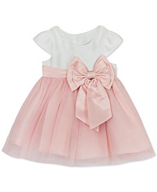 Baby Girls Mesh Bow Dress