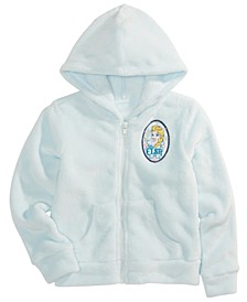 Little Girls Elsa Fleece Woobie Hoodie