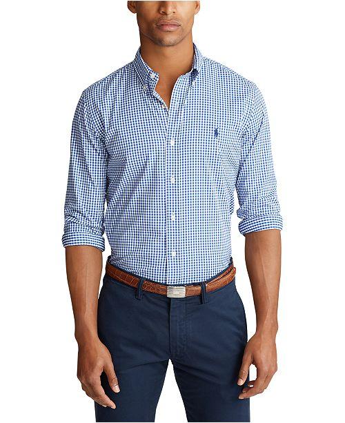Polo Ralph Lauren Men's Classic Fit Performance Twill Shirt