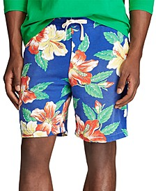 "Men's Floral French Terry 8"" Shorts"