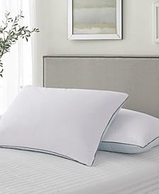 Summer-Winter White Goose Feather Pillow 2-Pack Jumbo