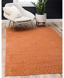 Glam Mmg003 Coral 9' x 12' Area Rug