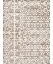Fifth Avenue Uptown Jzu002 Brown 9' x 12' Area Rug