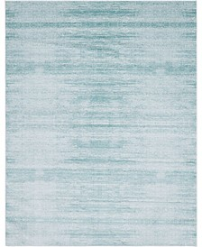 Madison Avenue Uptown Jzu001 Turquoise 8' x 10' Area Rug