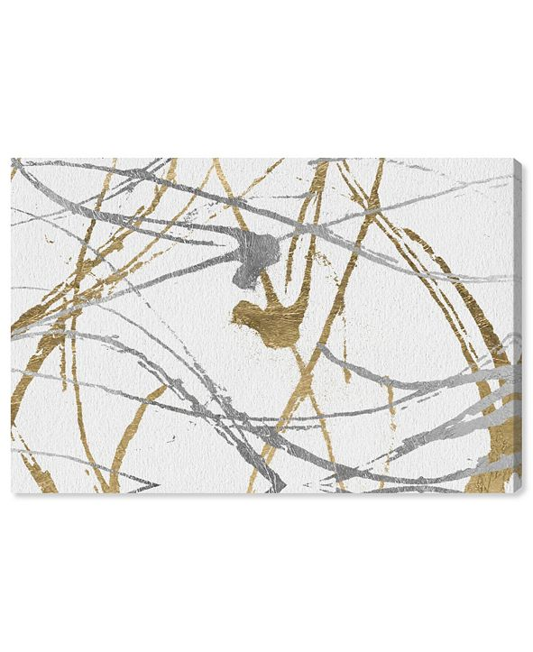 "Oliver Gal Precious Metals Canvas Art, 15"" x 10"""