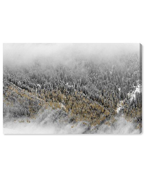 "Oliver Gal Overhead Golden Forest Canvas Art, 15"" x 10"""