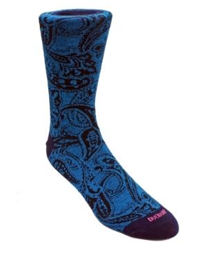 Men's Large Paisley Dress Sock