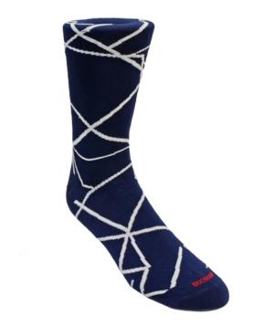 Men's Line Design Dress Sock