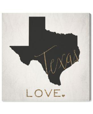 Texas Love Canvas Art, 12