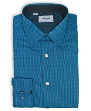 Solid Tonal Dot Dress Shirt