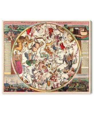 Horoscope Boreali Canvas Art, 36