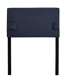 USB Panel Headboard with Storage Pockets, Twin