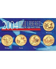 2004 Gold-Layered State Quarters
