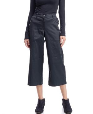 Fever Crop Wide Leg Pant In Black