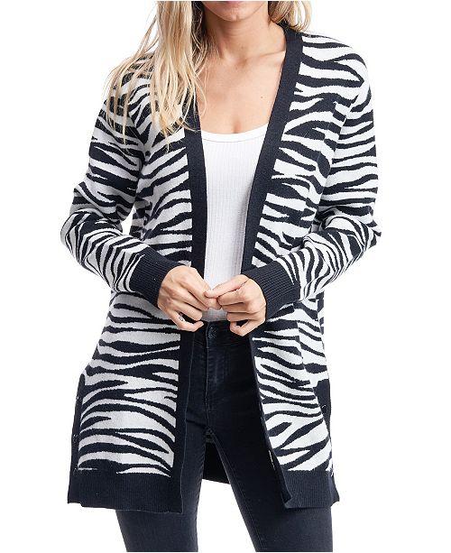 Fever Zebra Cardigan
