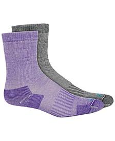 Women's 2-Pk. Crew Socks