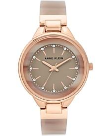 Women's Tan Bangle Bracelet Watch 36mm