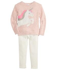Toddler Girls Unicorn Sweater & Leggings, Created For Macy's