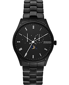 Men's Holst Black Stainless Steel Bracelet Watch 40mm