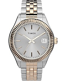 Women's Waterbury Two-Tone Stainless Steel Bracelet Watch 34mm