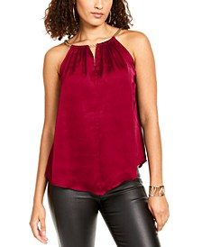 Chain-Neck Halter Top, Created For Macy's