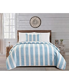 Great Bay Home Coastal Quilt Set Collection