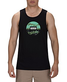 Men's Tropic Reflection Premium Logo Tank Top