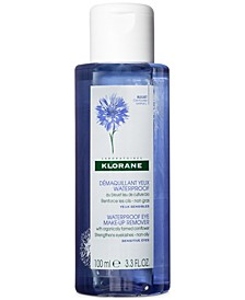 Waterproof Eye Make-Up Remover With Organically Farmed Cornflower, 3.3-oz.