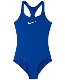 Big Girls 1-Pc. Essential Racerback Swim Suit