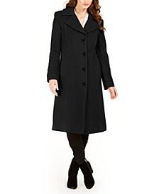 Single-Breasted Midi Coat, Created For Macy's