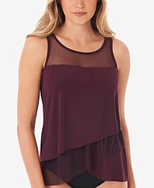 Illusionist Mirage Underwire Tankini Top