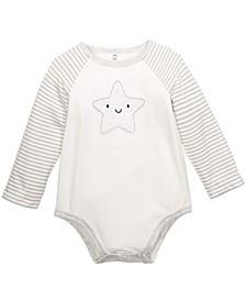 Baby Unisex Star Bodysuit, Created For Macy's