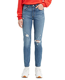 Levi's® Women's 501 Distressed Skinny Jeans
