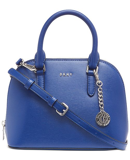 DKNY Bryant Dome Leather Satchel, Created for Macy's