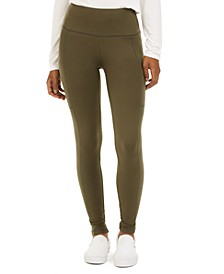Juniors' Side-Pocket Leggings