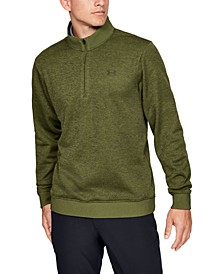 Men's Golf Quarter-Zip Storm-Fleece Sweater
