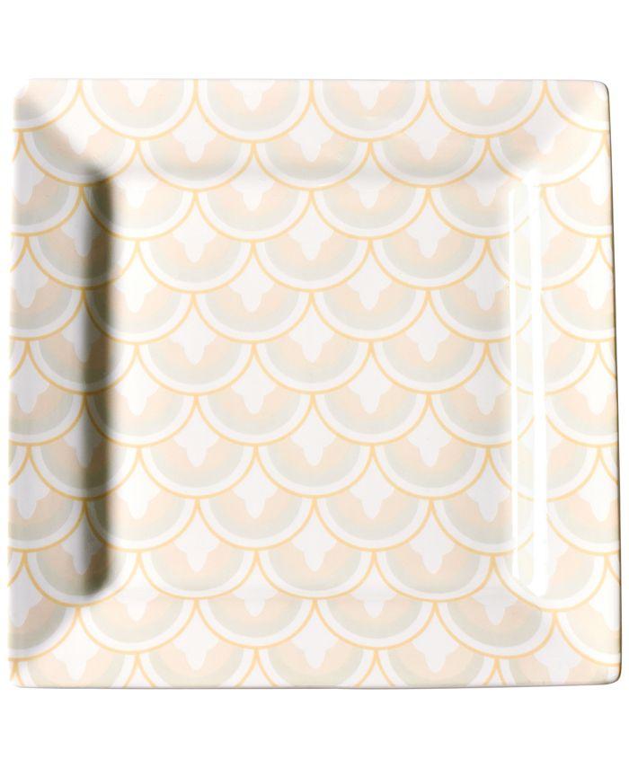 Coton Colors - Blush Layered Arabesque Square Platter