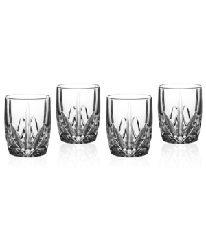 Marquis by Waterford Barware, Set of 4 Brookside Double Old Fashioned Glasses