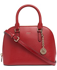 Bryant Dome Leather Satchel, Created for Macy's