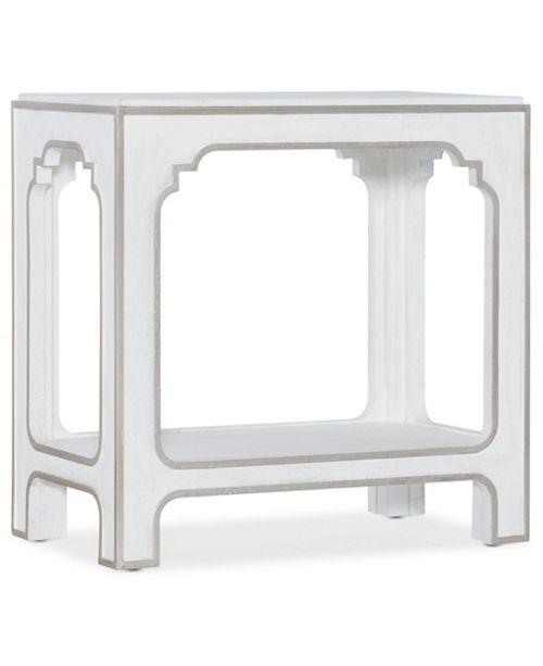 Hooker Furniture Modern Romance End Table