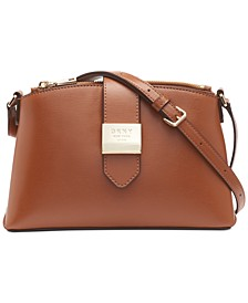 Lyla Leather Crossbody, Created for Macy's