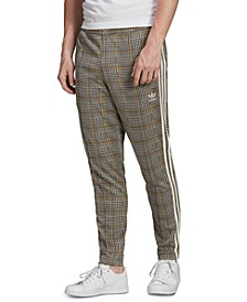 adidas Men's Originals Plaid Track Suit