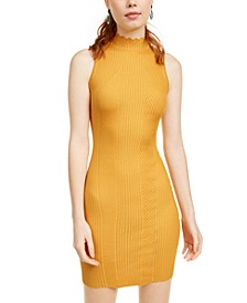 Crave Fame Juniors' Ribbed Bodycon Dress