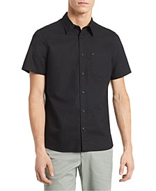 Men's Slim-Fit Stretch Short Sleeve Shirt