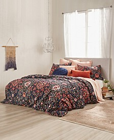 Home Lush Floral King Comforter Set